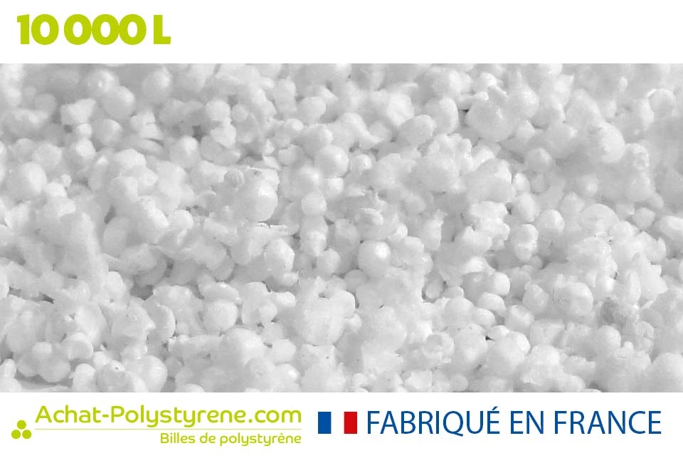 Billes de polystyrène recyclé - 10 000 litrs