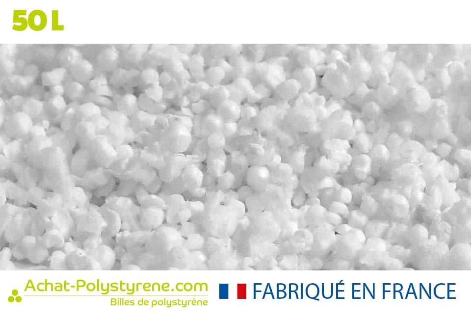 Billes de polystyrène recyclé - 50L