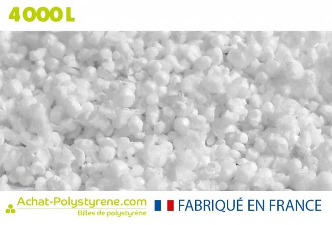 Billes de polystyrène recyclé - 4000L