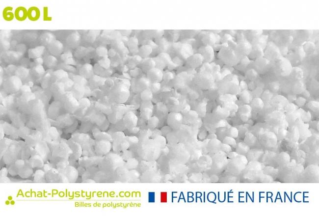 Billes de polystyrène recyclé - 600L
