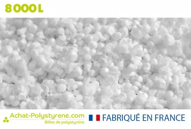 Billes de polystyrène recyclé - 8000 litres