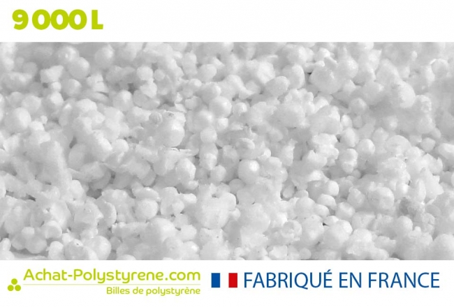 Billes de polystyrène recyclé - 9000 litres