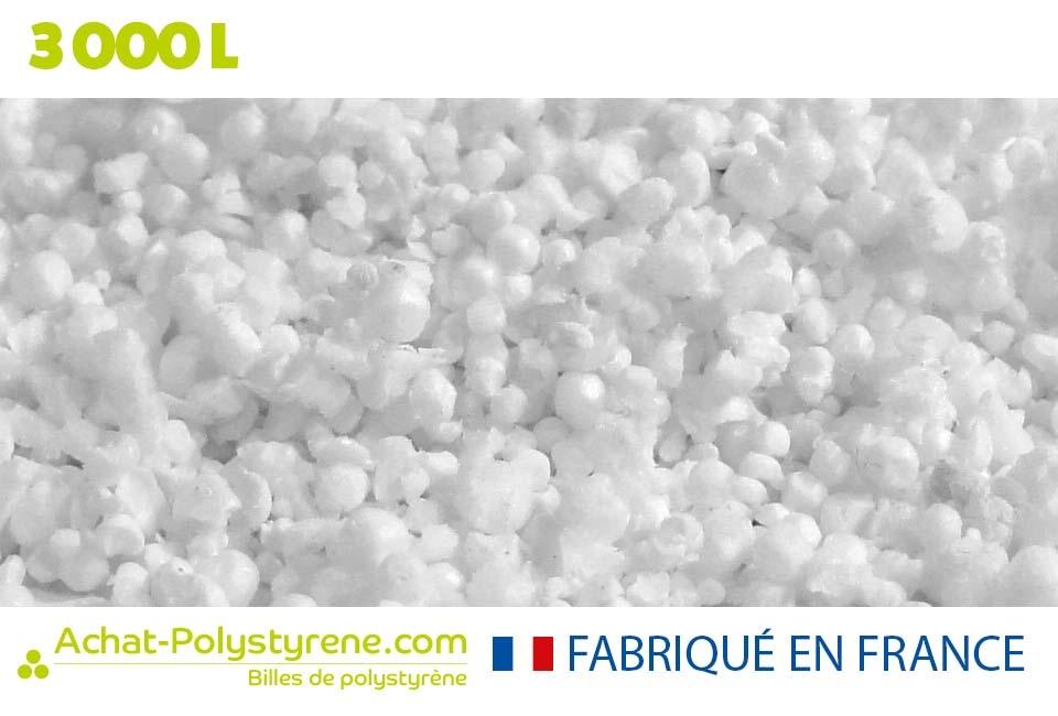 Billes de polystyrène recyclé - 2000L