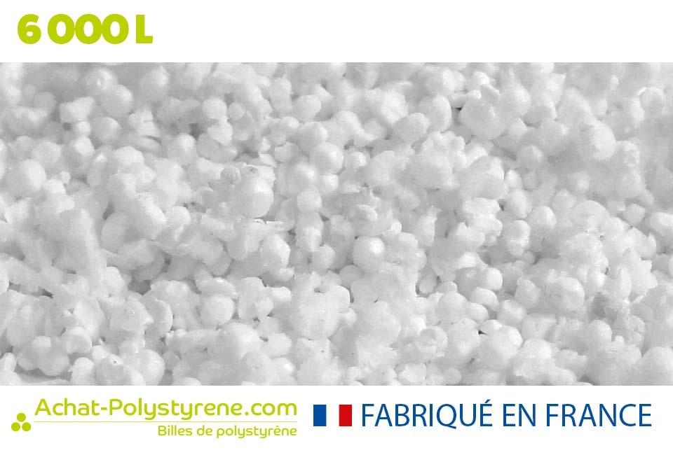 Billes de polystyrène recyclé - 6000L