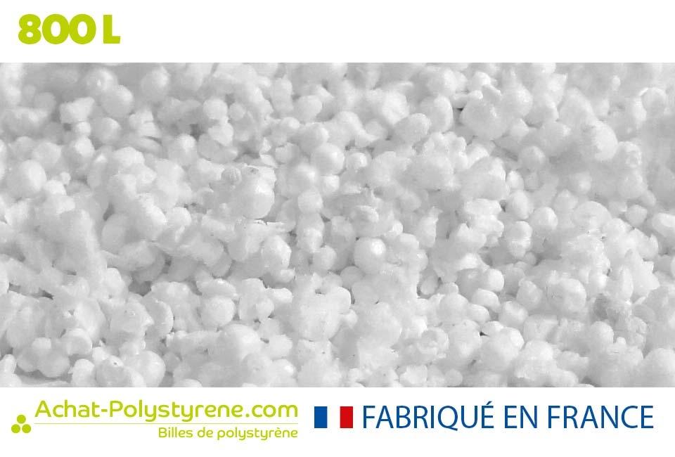 Billes de polystyrène recyclé - 800L